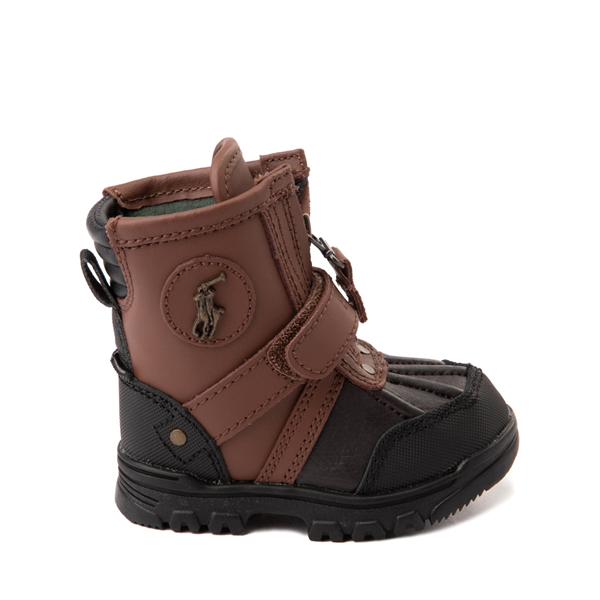 Conquered Boot by Polo Ralph Lauren - Baby / Toddler - Brown / Black