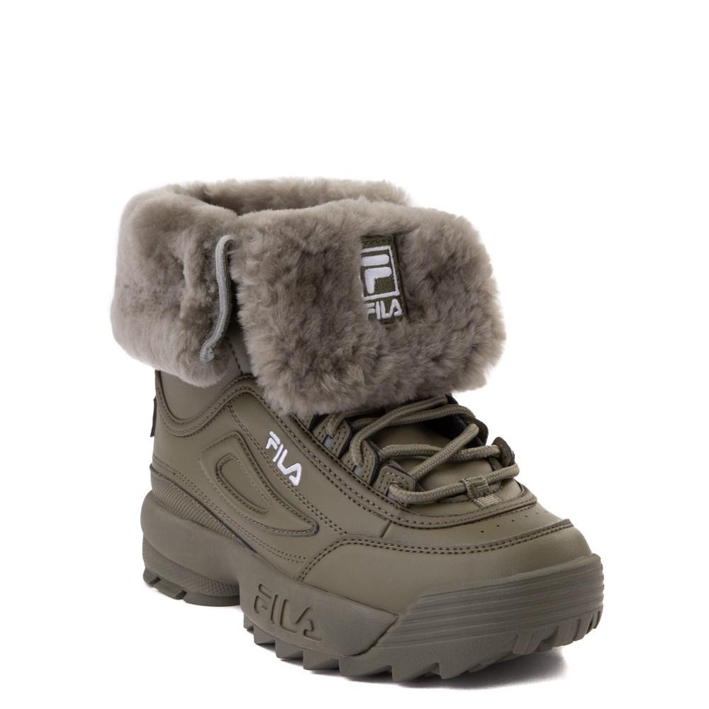 Fila Disruptor Shearling Boot - Big Kid