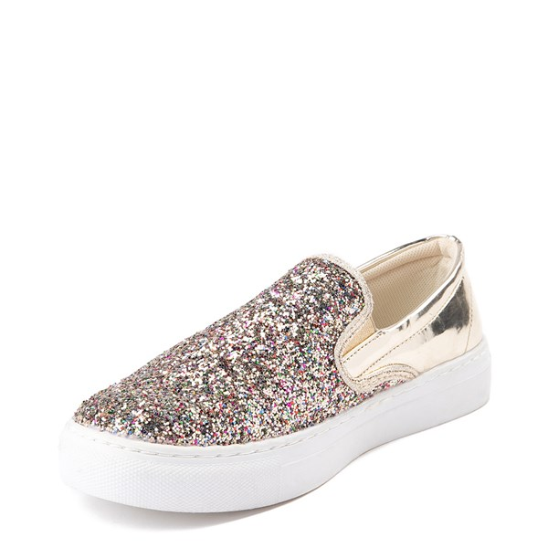 alternate view Womens Wanted Spangle Slip On Platform Casual ShoeALT3