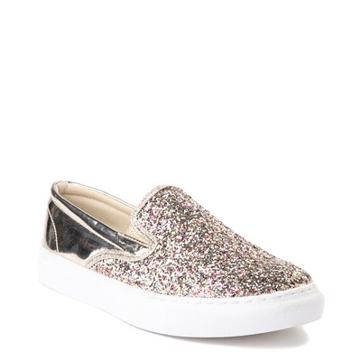 Alternate view of Womens Wanted Spangle Slip On Platform Casual Shoe - Multi