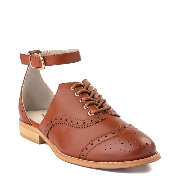 Alternate view of Womens Wanted Cherub Oxford Casual Shoe - Tan