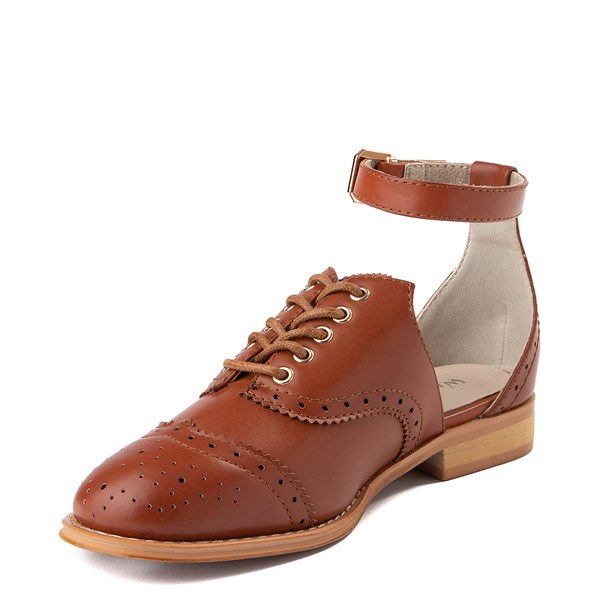 alternate view Womens Wanted Cherub Oxford Casual Shoe - TanALT3