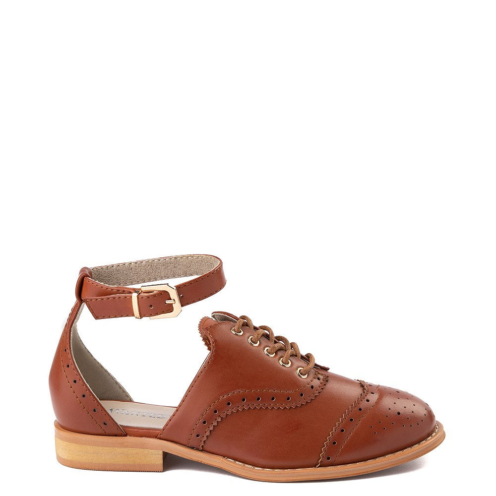 Womens Wanted Cherub Oxford Casual Shoe - Tan