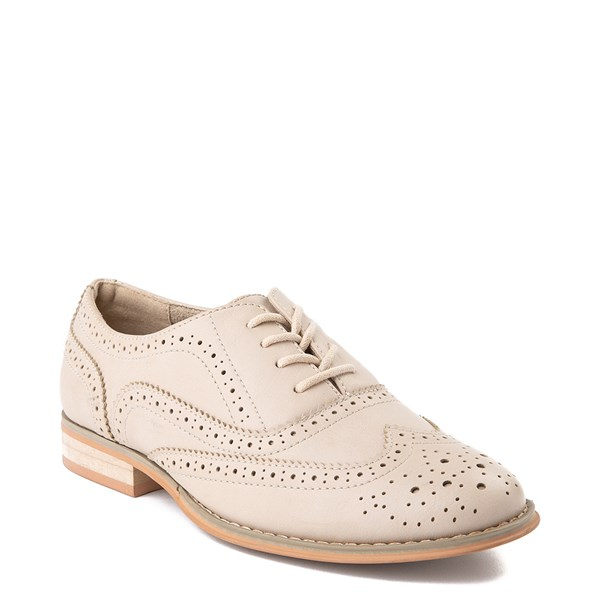 alternate view Womens Wanted Babe Oxford Casual Shoe - NaturalALT1