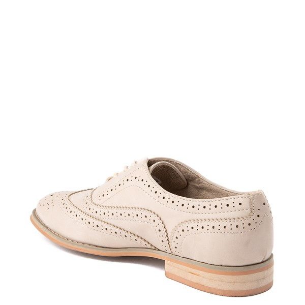 alternate view Womens Wanted Babe Oxford Casual Shoe - NaturalALT2