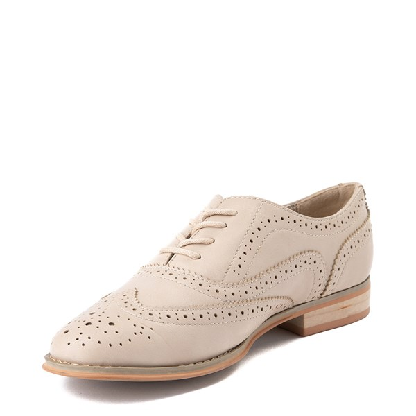 alternate view Womens Wanted Babe Oxford Casual Shoe - NaturalALT3