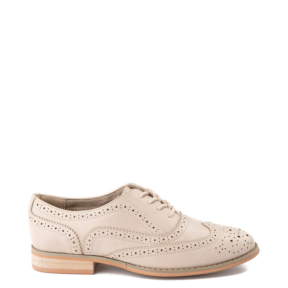 Womens Wanted Babe Oxford Casual Shoe - Natural
