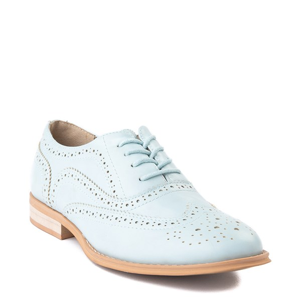 alternate view Womens Wanted Babe Oxford Casual Shoe - Sky BlueALT1