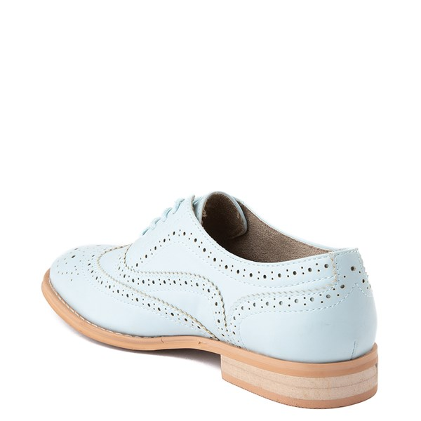 alternate view Womens Wanted Babe Oxford Casual Shoe - Sky BlueALT2