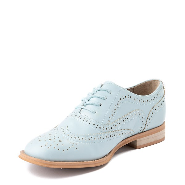 alternate view Womens Wanted Babe Oxford Casual Shoe - Sky BlueALT3