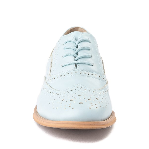 alternate view Womens Wanted Babe Oxford Casual Shoe - Sky BlueALT4