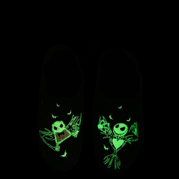 Alternate view of Vans x The Nightmare Before Christmas Slip On Jack Skellington Skate Shoe - Little Kid / Big Kid - Black / Glow