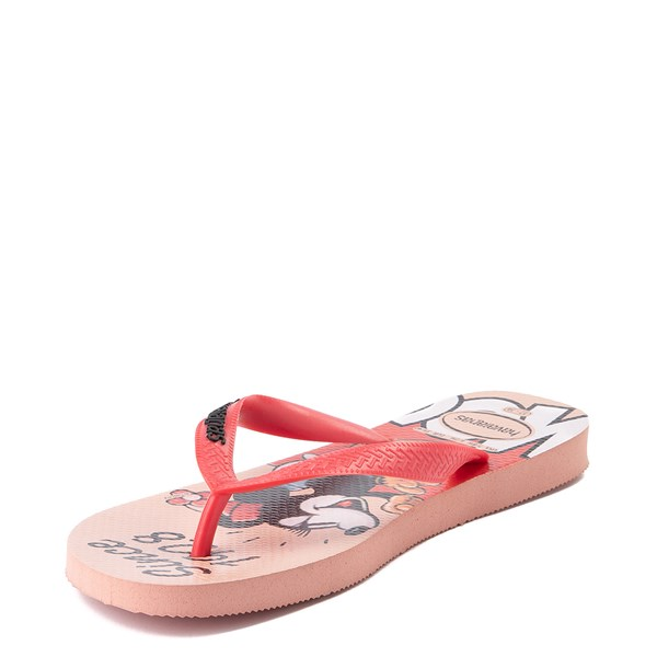 alternate view Womens Havaianas Disney Stylish Minnie Mouse SandalALT3