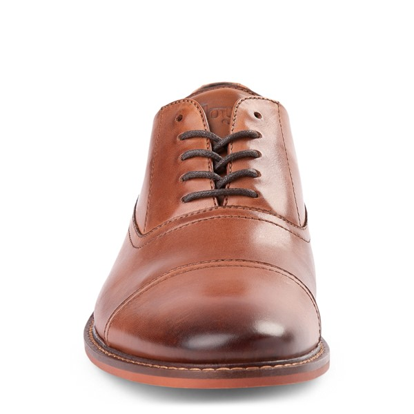 alternate view Mens Floyd Lotte Casual Shoe - CognacALT4