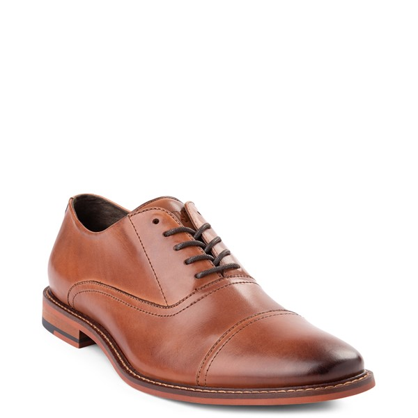 alternate view Mens Floyd Lotte Casual Shoe - CognacALT5