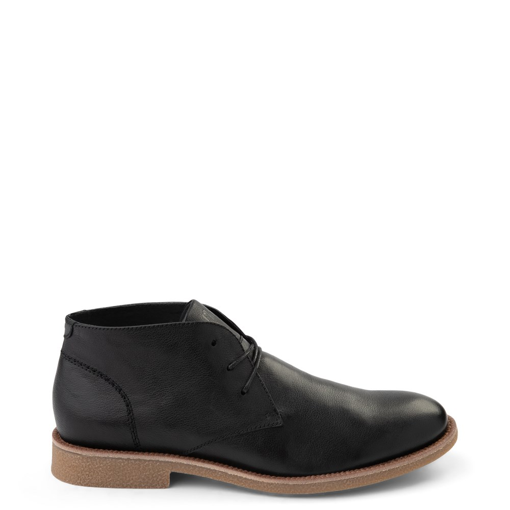 Mens Floyd Emilio Chukka Boot - Black