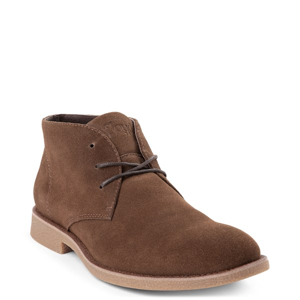 alternate view Mens Floyd Emilio Chukka Boot - BrownALT1