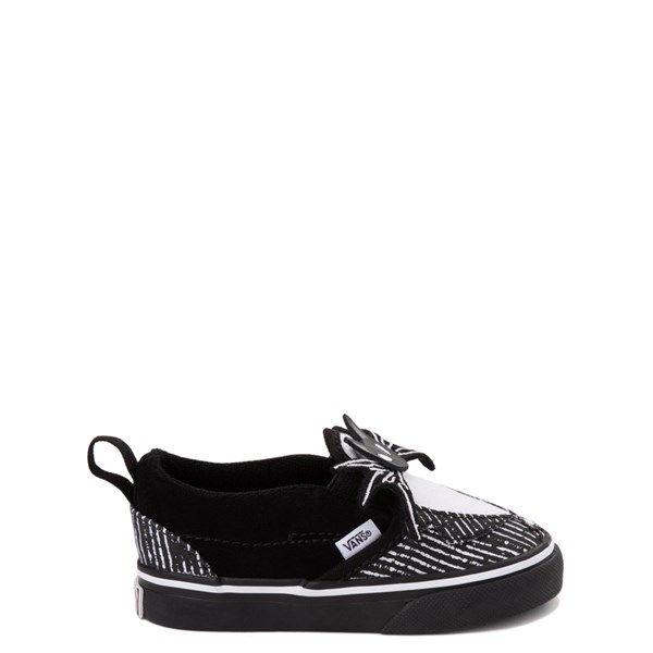 alternate view Vans x The Nightmare Before Christmas Slip On V Jack Skellington Skate Shoe - Baby / Toddler - BlackALT1B
