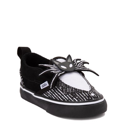 Alternate view of Vans x The Nightmare Before Christmas Slip On V Jack Skellington Skate Shoe - Baby / Toddler - Black