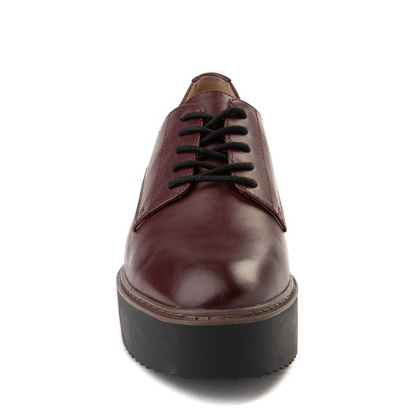 alternate view Womens Madden Girl Written Platform Casual Shoe - BurgundyALT4