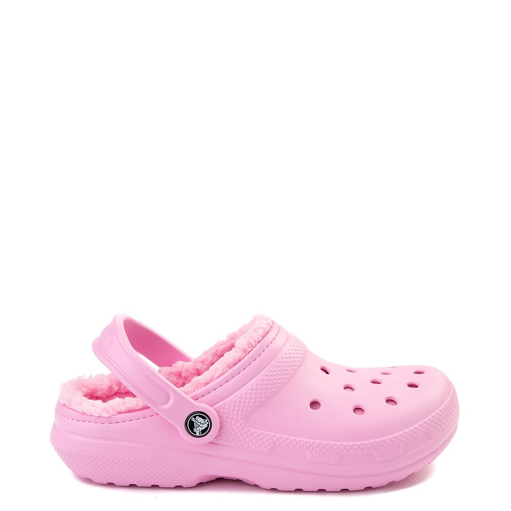 Crocs Classic Fuzz-Lined Clog - Carnation