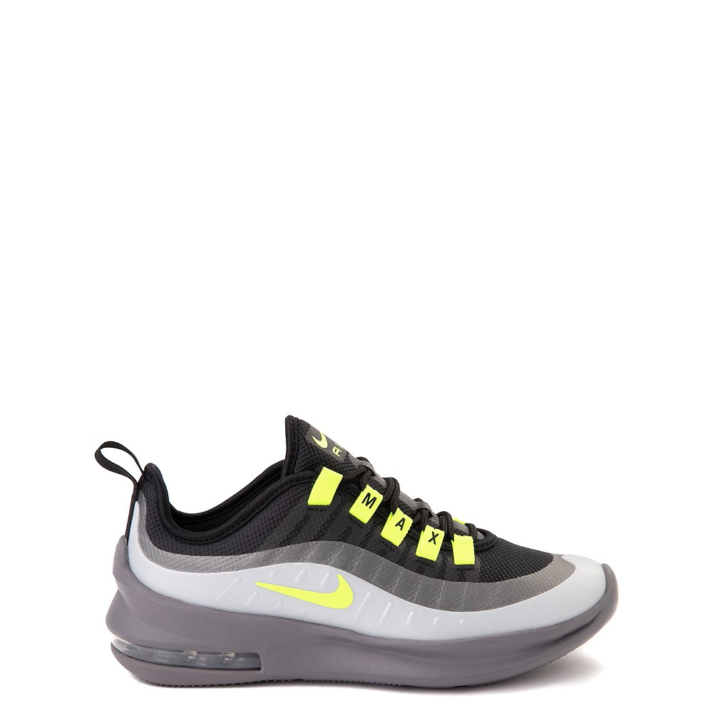 Nike Air Max Axis Athletic Shoe - Little Kid - Black / Volt / Gray