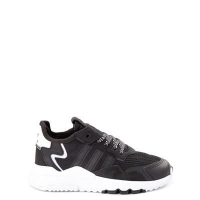Main view of adidas Nite Jogger Athletic Shoe - Little Kid