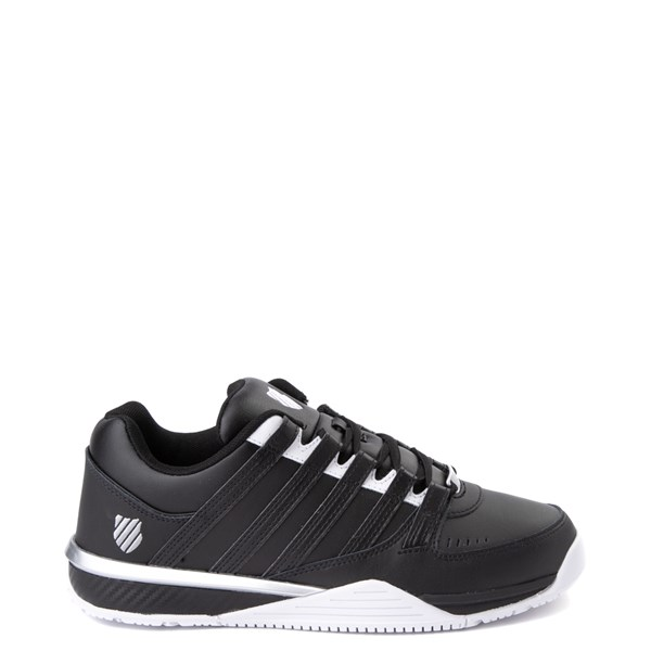 Mens K-Swiss Baxter Athletic Shoe - Black / White / Silver