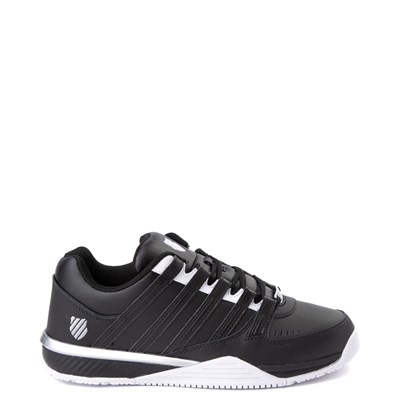 Main view of Mens K-Swiss Baxter Athletic Shoe - Black / White / Silver
