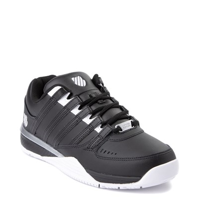 Alternate view of Mens K-Swiss Baxter Athletic Shoe - Black / White / Silver