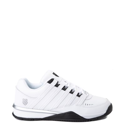 Main view of Mens K-Swiss Baxter Athletic Shoe - White / Black / Silver