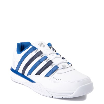 Alternate view of Mens K-Swiss Baxter Athletic Shoe - White / Blue / Navy