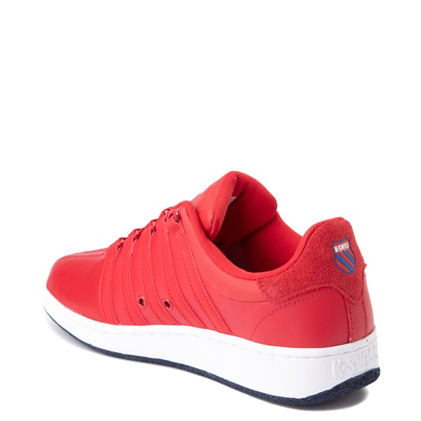 alternate view Mens K-Swiss Classic VN Heritage Athletic Shoe - Red / NavyALT2