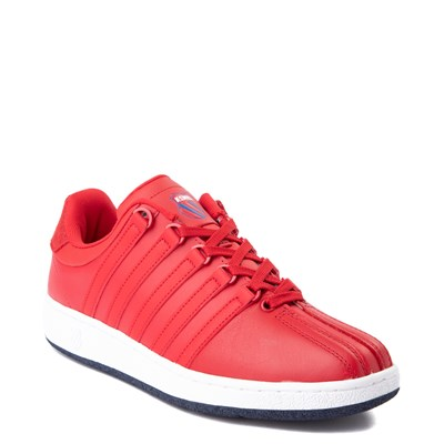 Alternate view of Mens K-Swiss Classic VN Heritage Athletic Shoe - Red / Navy