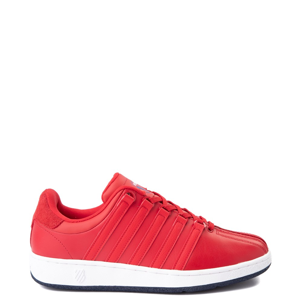 Mens K-Swiss Classic VN Heritage Athletic Shoe - Red / Navy