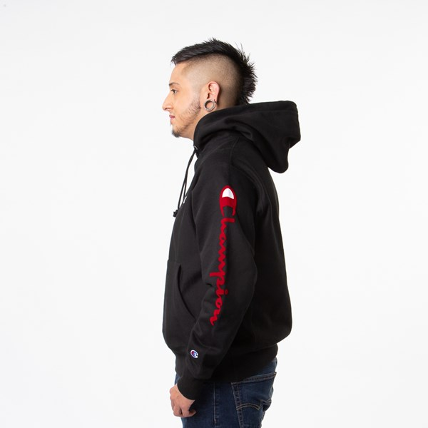 alternate view Mens Champion Reverse Weave HoodieALT2