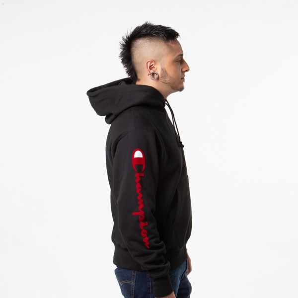alternate view Mens Champion Reverse Weave HoodieALT4