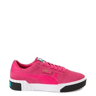Main view of Womens Puma California Exotic Athletic Shoe - Pink / Black / White