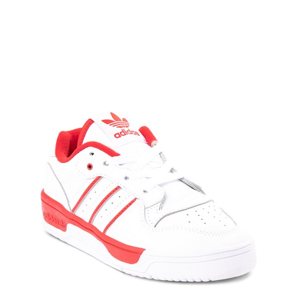 alternate view adidas Rivalry Low Athletic Shoe - Little KidALT1
