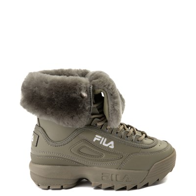 Main view of Fila Disruptor Shearling Boot - Little Kid