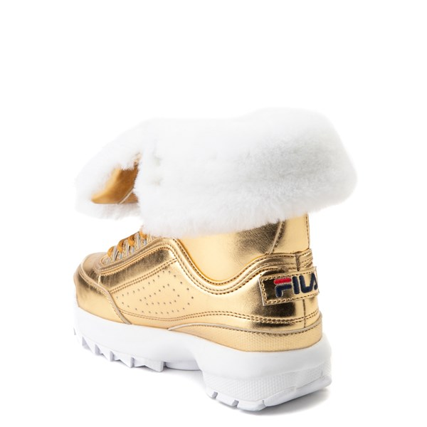 alternate view Fila Disruptor Shearling Boot - Big KidALT2