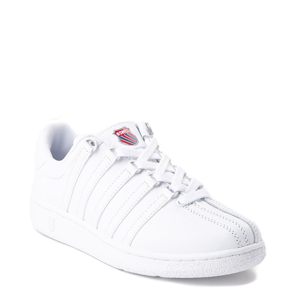 alternate view Womens K-Swiss Classic VN Heritage Athletic Shoe - WhiteALT1