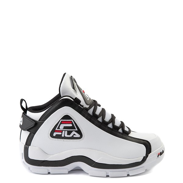 Mens Fila Grant Hill 2 Athletic Shoe - White / Black / Red