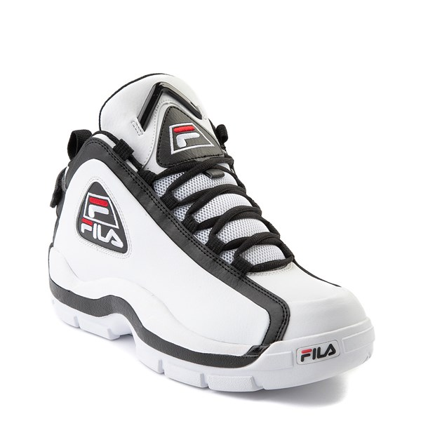 alternate view Mens Fila Grant Hill 2 Athletic Shoe - White / Black / RedALT1