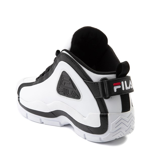 alternate view Mens Fila Grant Hill 2 Athletic Shoe - White / Black / RedALT2