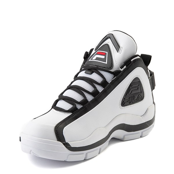 alternate view Mens Fila Grant Hill 2 Athletic Shoe - White / Black / RedALT3