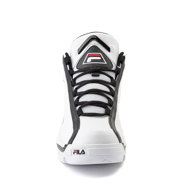alternate view Mens Fila Grant Hill 2 Athletic Shoe - White / Black / RedALT4