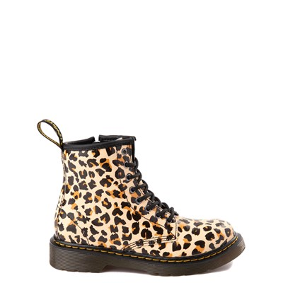 Main view of Dr. Martens 1460 8-Eye Boot - Little Kid / Big Kid - Leopard