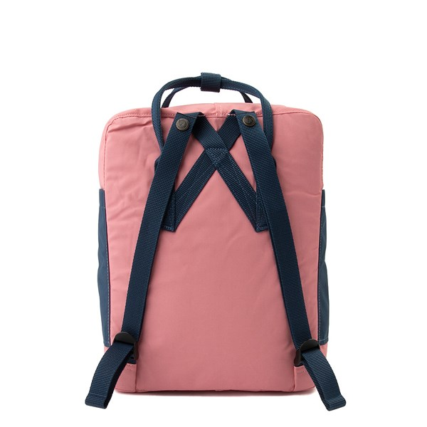 alternate view Fjallraven Kanken Backpack - Pink / Royal Blue / Sky BlueALT1