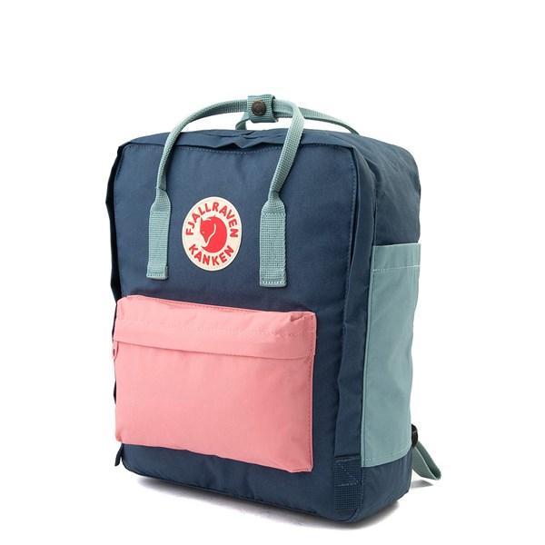 alternate view Fjallraven Kanken Backpack - Royal Blue / Pink / Sky BlueALT2
